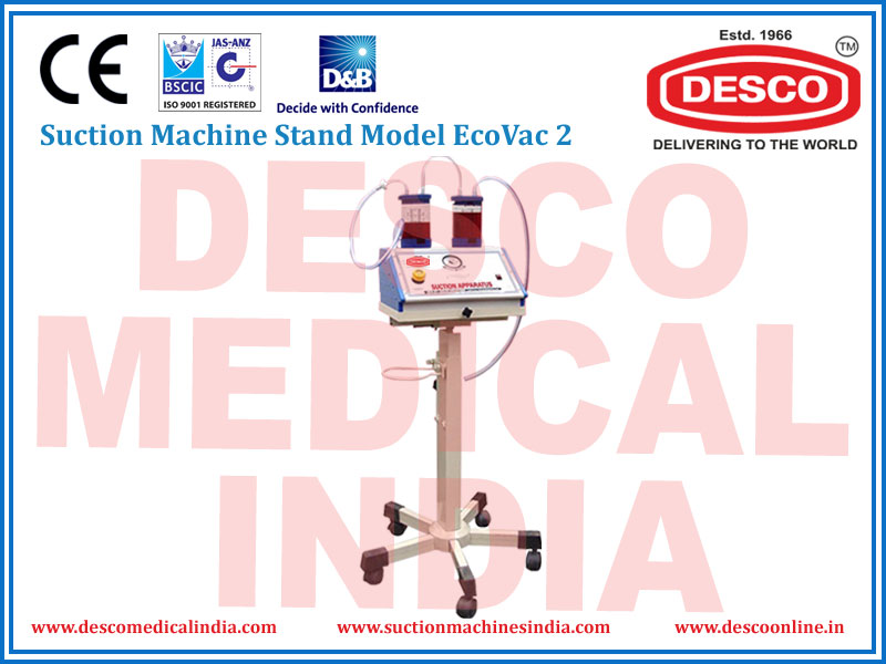 SUCTION MACHINE STAND MODEL ECOVAC 2