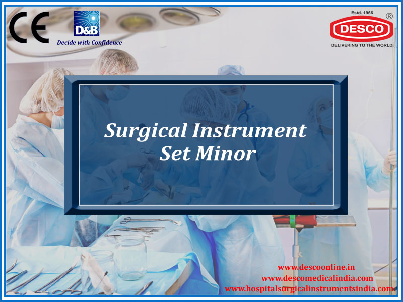 SURGICAL INSTRUMENT SET MINOR