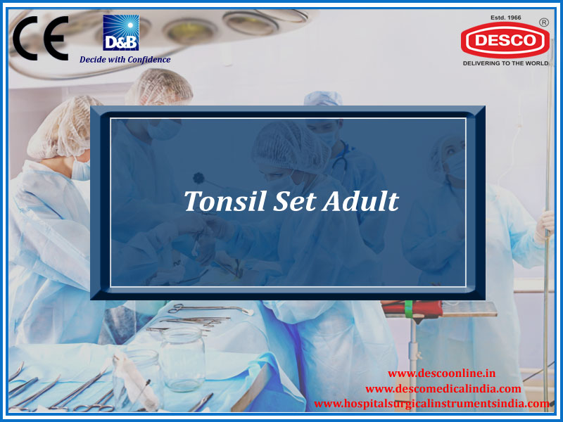 TONSIL SET ADULT