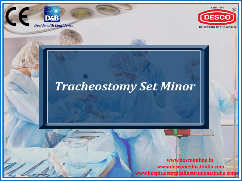 TRACHEOSTOMY SET MINOR