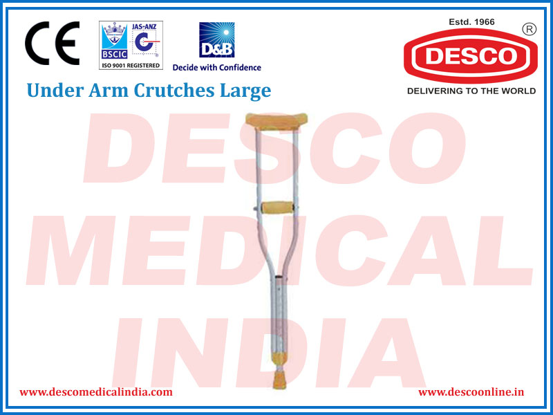 UNDER ARM CRUTCHES LARGE