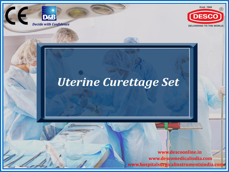 UTERINE CURETTAGE SET