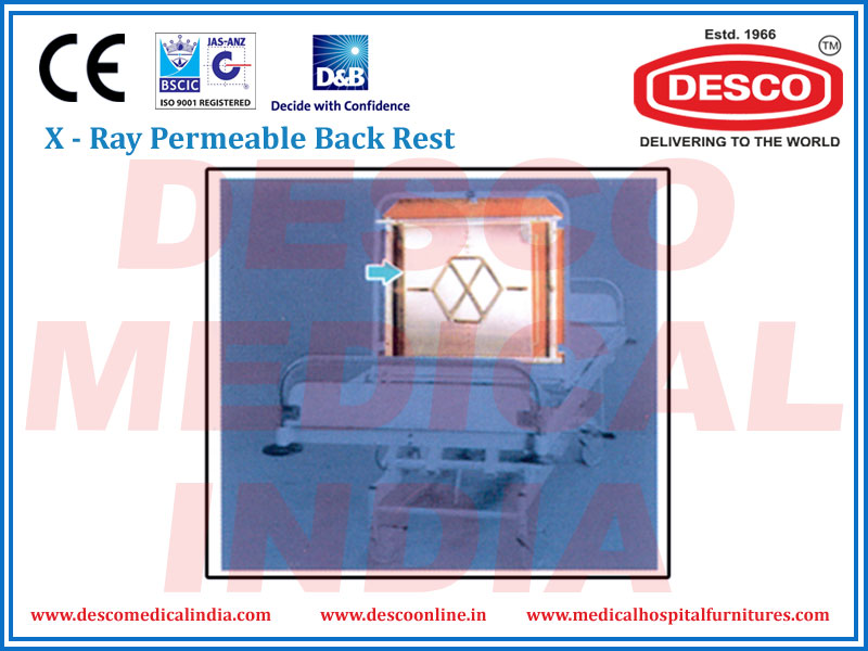 X - RAY PERMEABLE BACK REST